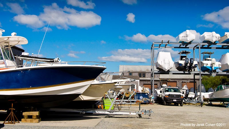 Nantucket Boat Storage at Glyn's Marine